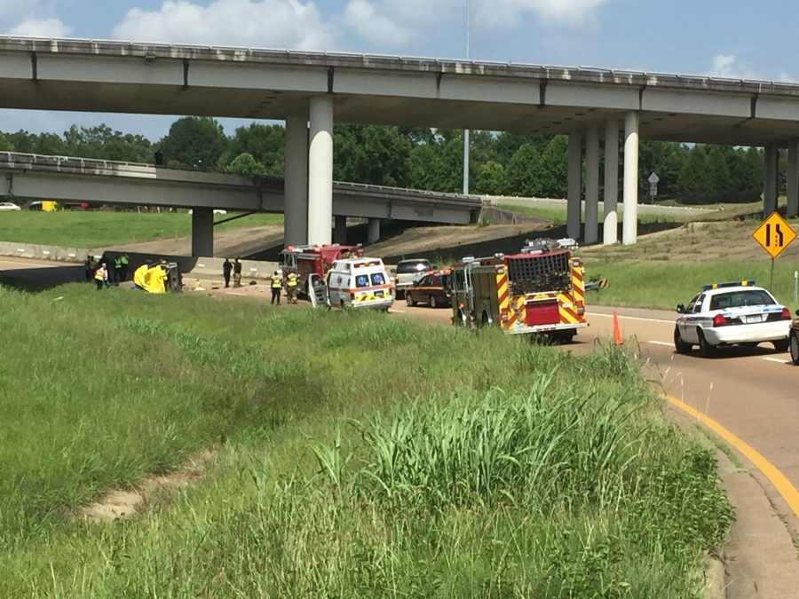 DEVELOPING: Accident on I-55 southbound past Woodrow Wilson Ave  Exit