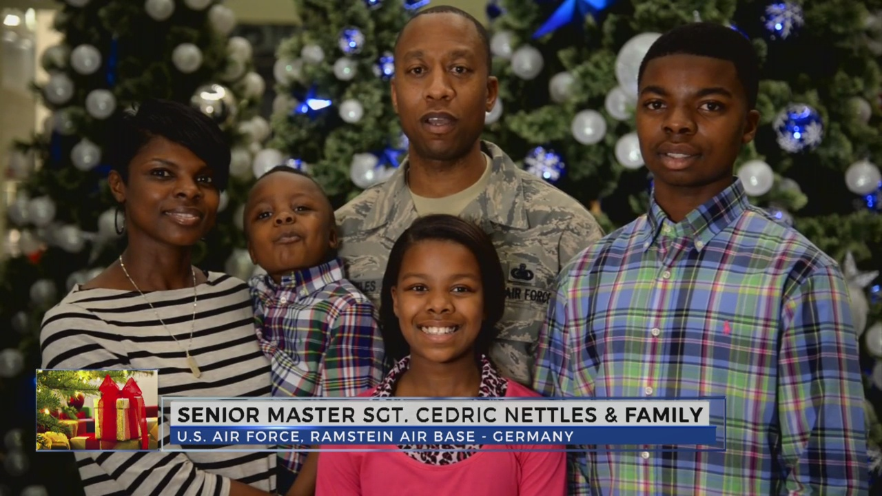 Senoir Master Sgt. Cedric Nettles