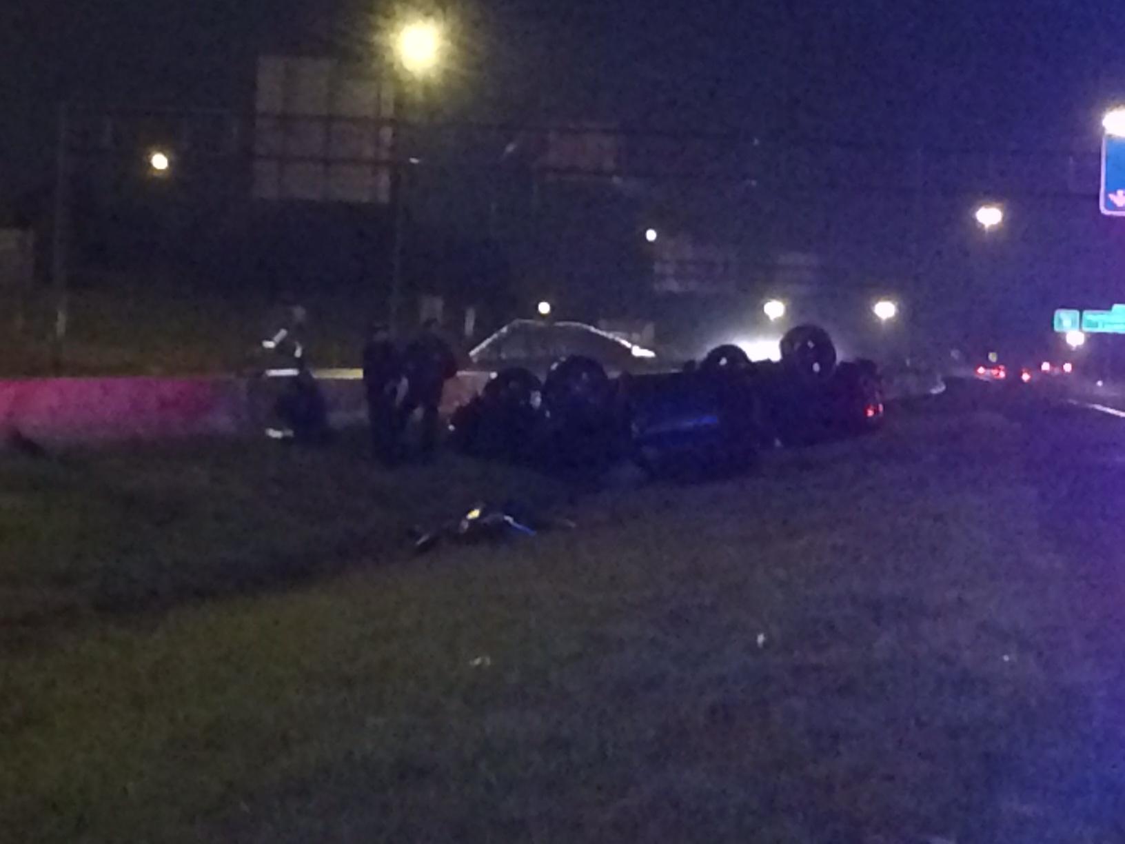 I-55 xar ax car flipped 1_110314