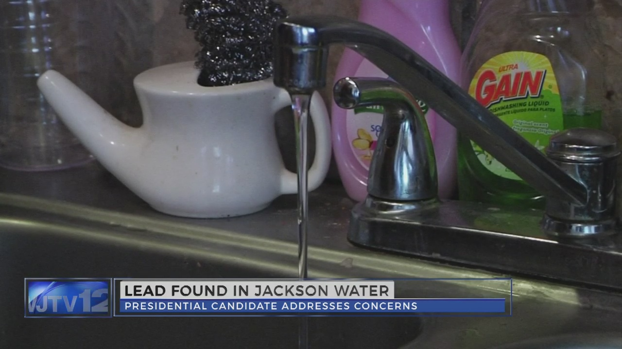 Hillary Clinton addresses Jackson's water issues; Mayor Yarber responds