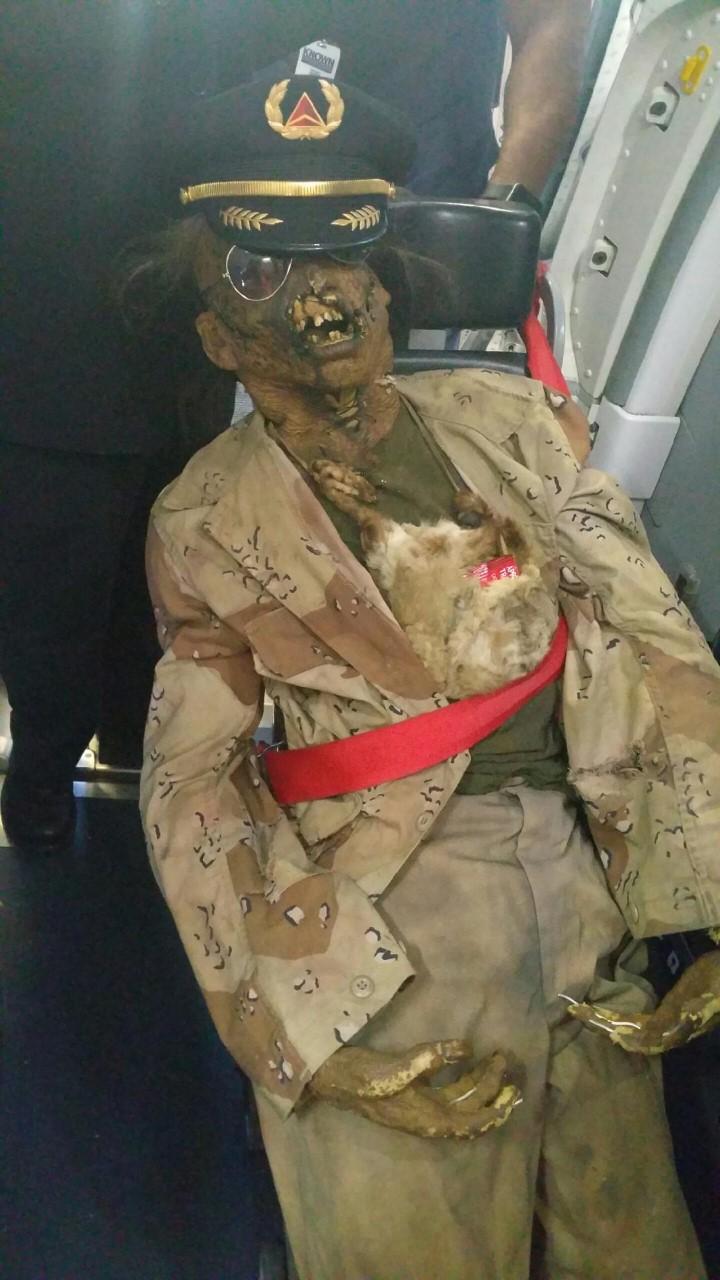 """Texas Chainsaw Massacre 2"" prop wearing pilot_149106"