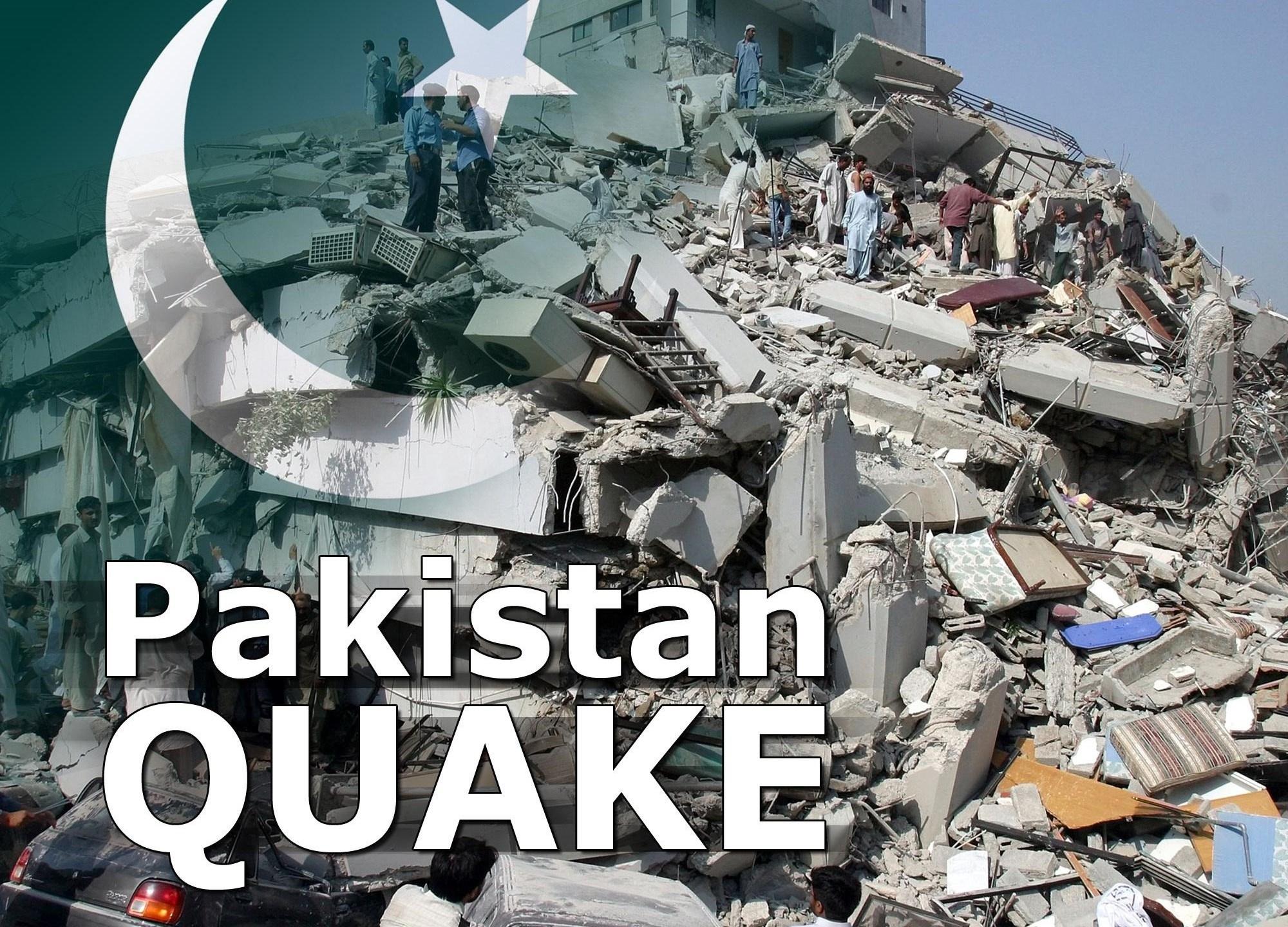 Pakistan earthquake AP_159038