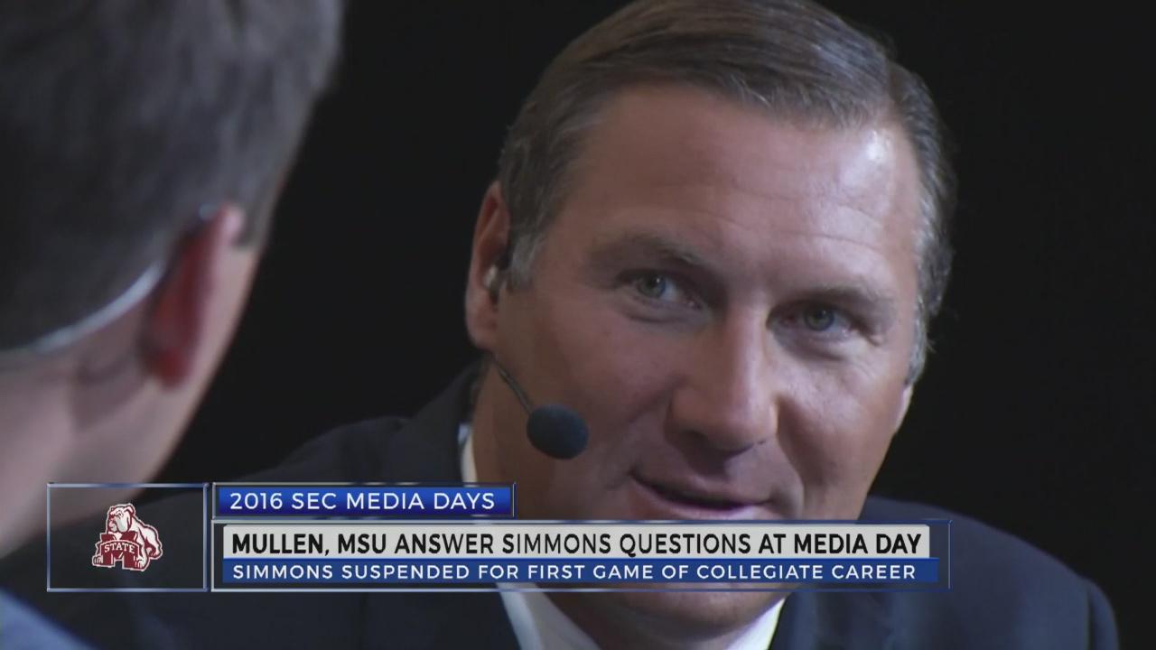 Mississippi State addresses Jeffery Simmons at SEC Media Days