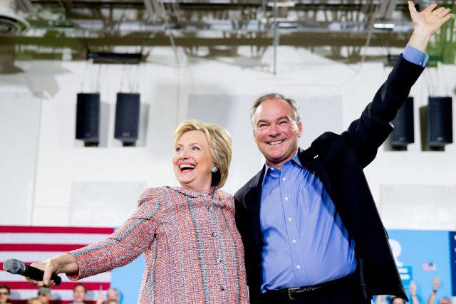 Hillary Clinton, Tim Kaine_195096