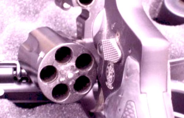 Handgun by Kristine Bellino photo graphically altered_191744