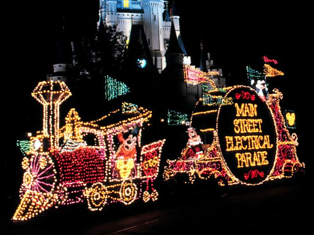 Walt Disney World Main Street Electrical Parade Photo by AP Images AP_0103120796_202453