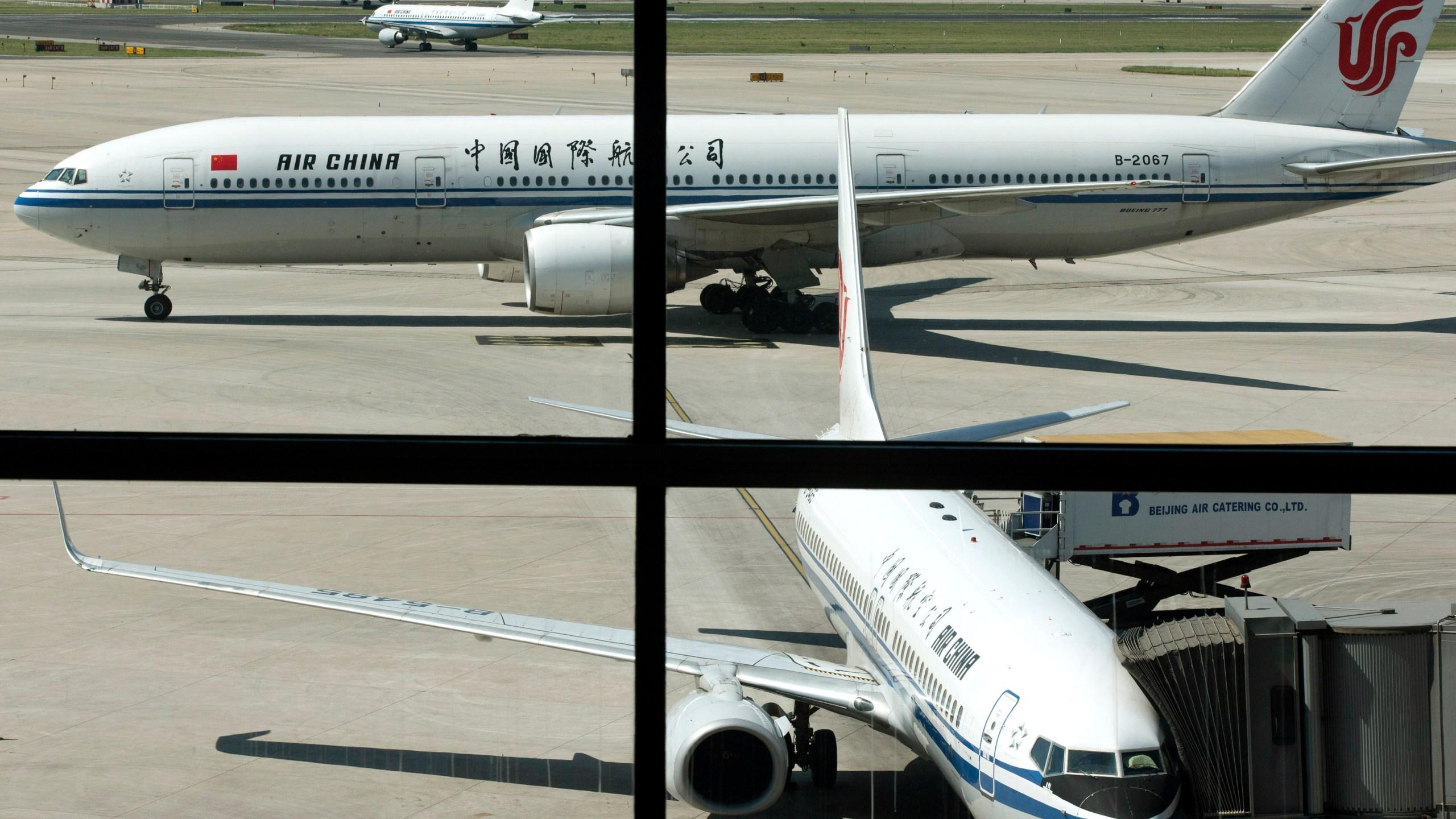 FILE PHOTO Air China China Britain Offensive Article Photo by Alexander F. Yuan, AP Photo_213476
