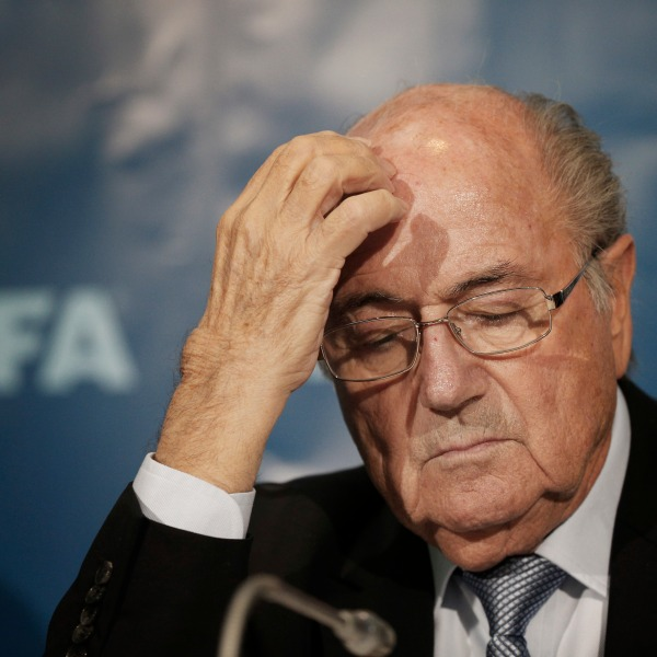 FILE PHOTO Soccer FIFA Investigation Blatter Photo by Christophe Ena, AP Photo_214122