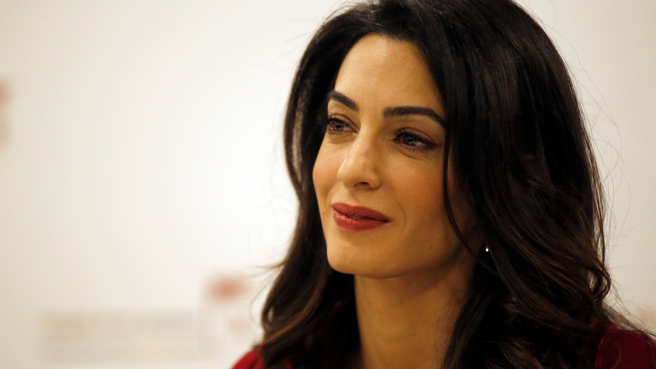 FILE PHOTO Amal Clooney pushing for UN to investigate and prosecute the Islamic State Photo by Alastair Grant, AP Photo_218344