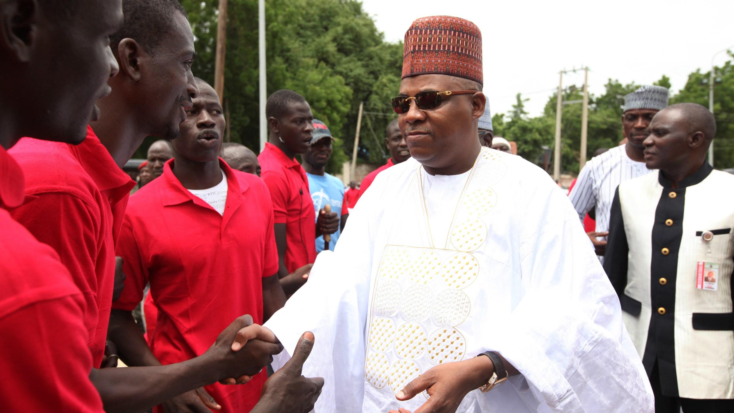 FILE PHOTO Borno, Nigeria Governor Kashim Shettima Photo by Sunday Alamba, AP Photo_235862