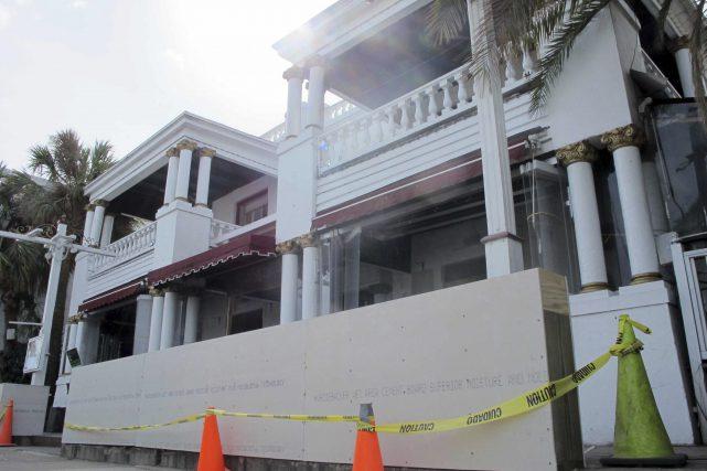 FILE PHOTO St. Augustine, FLorida Hurricane Matthew Damage Photo by Jason H. Dearen, AP Photo_236956