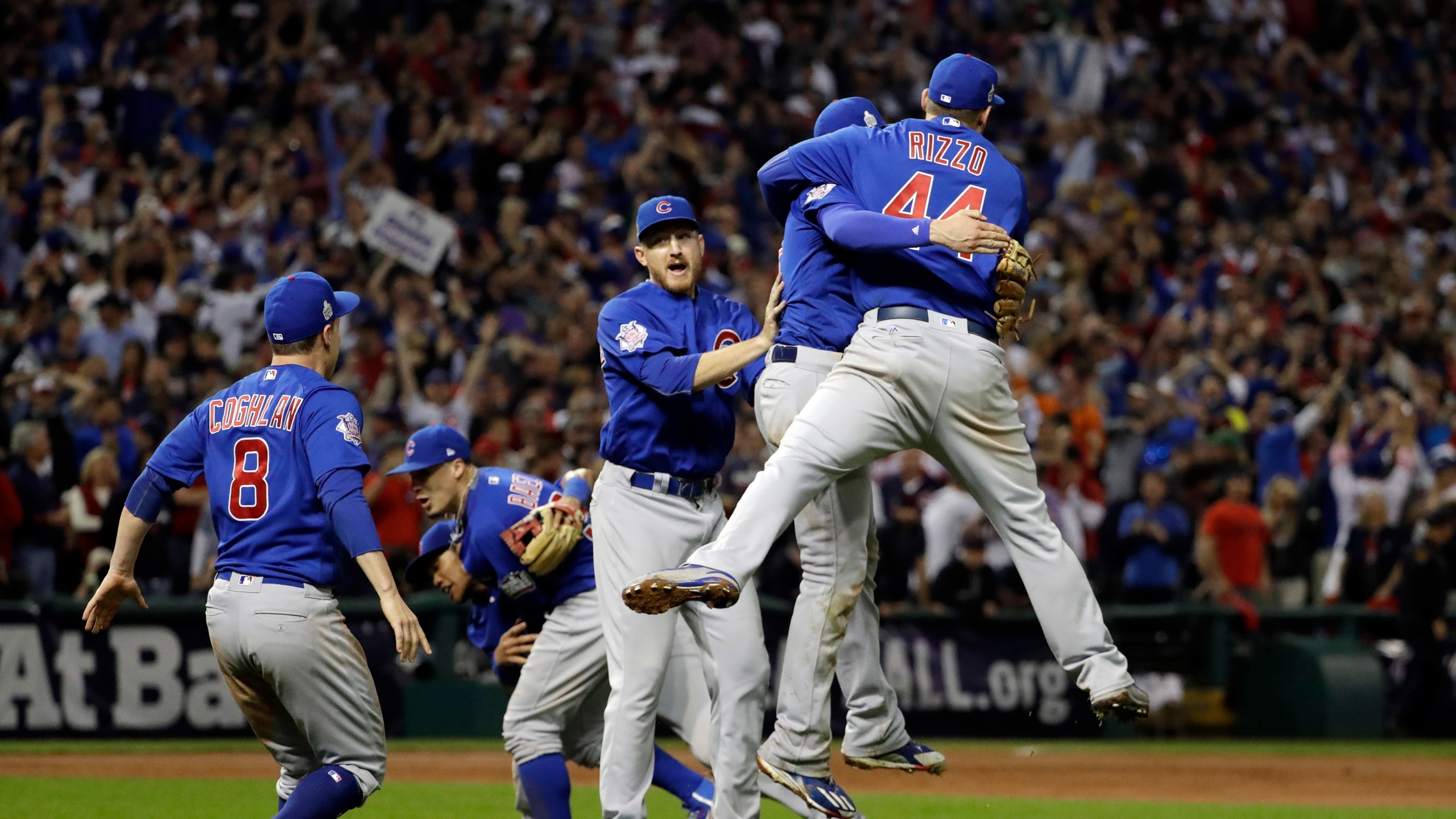 APTOPIX World Series Cubs Indians Baseball_237234