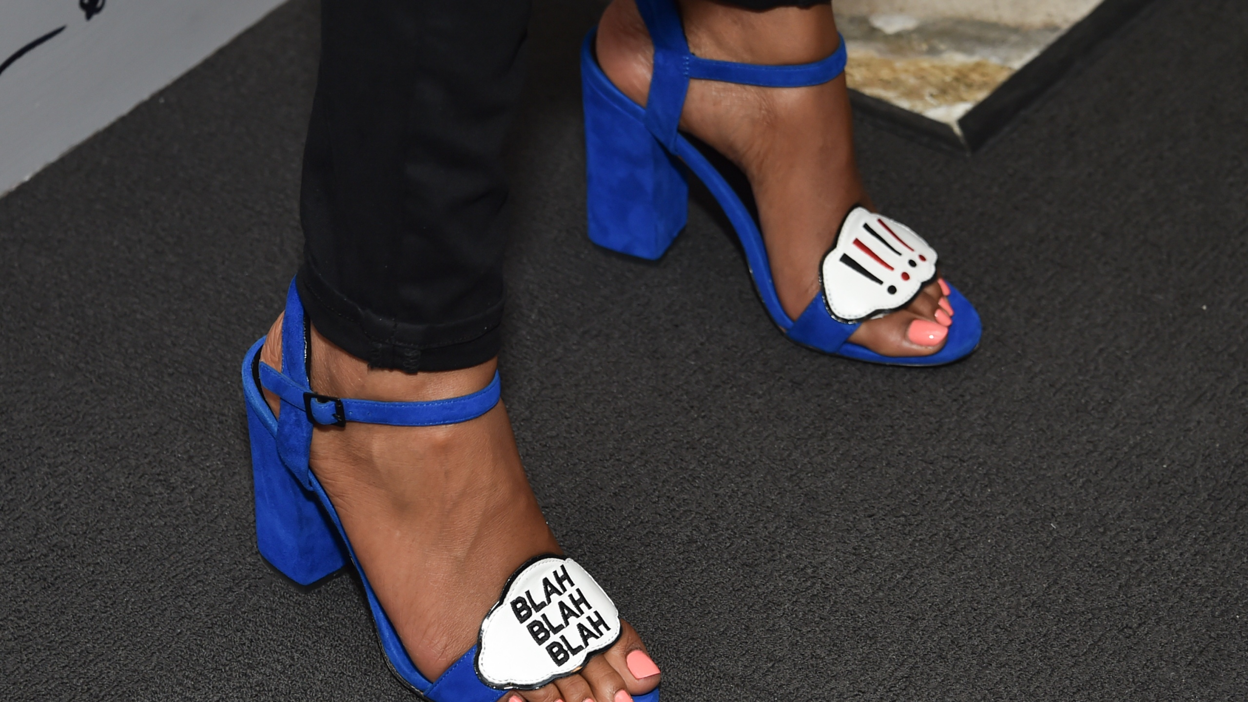 FILE PHOTO Simone Missick shoes Photo by Evan Agostini, Invision, AP Photo_243752