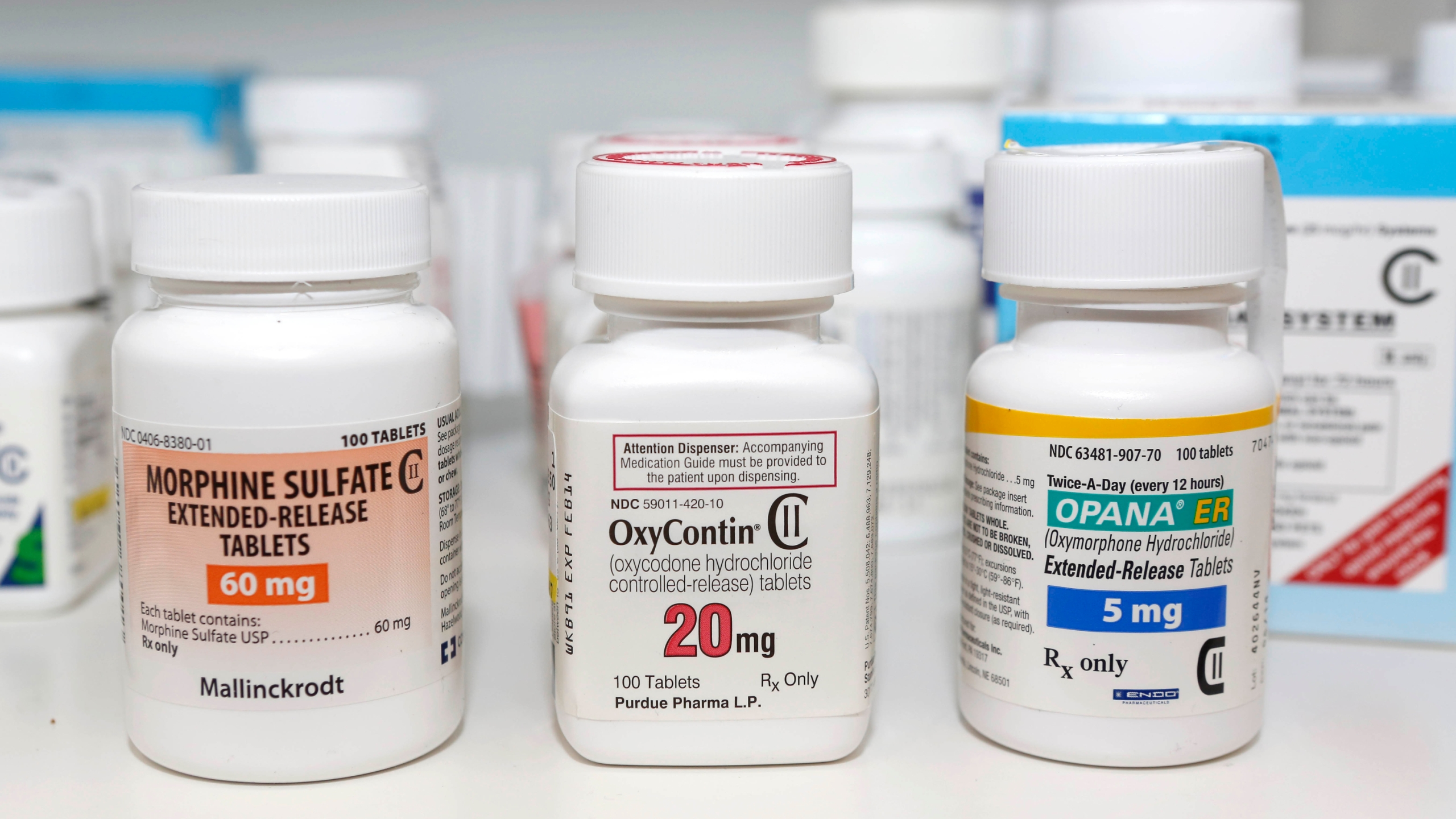 FILE PHOTO Opioid Database Photo by Rich Pedroncelli, AP Photo_255240