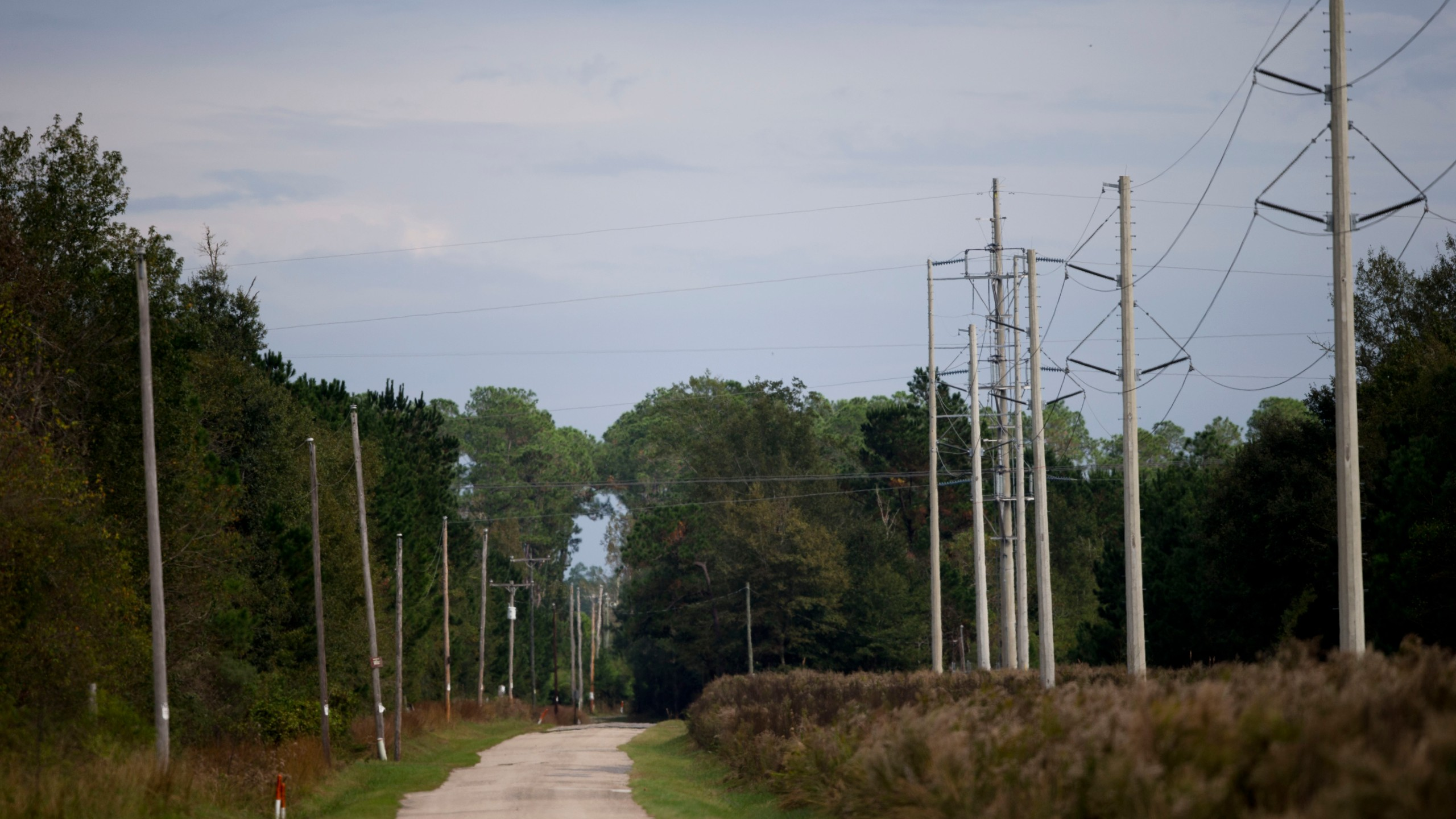 roadway in Mississippi Infrastructure Power Grid Extreme Weather Photo by Gerald Herbert, AP Photo_260100