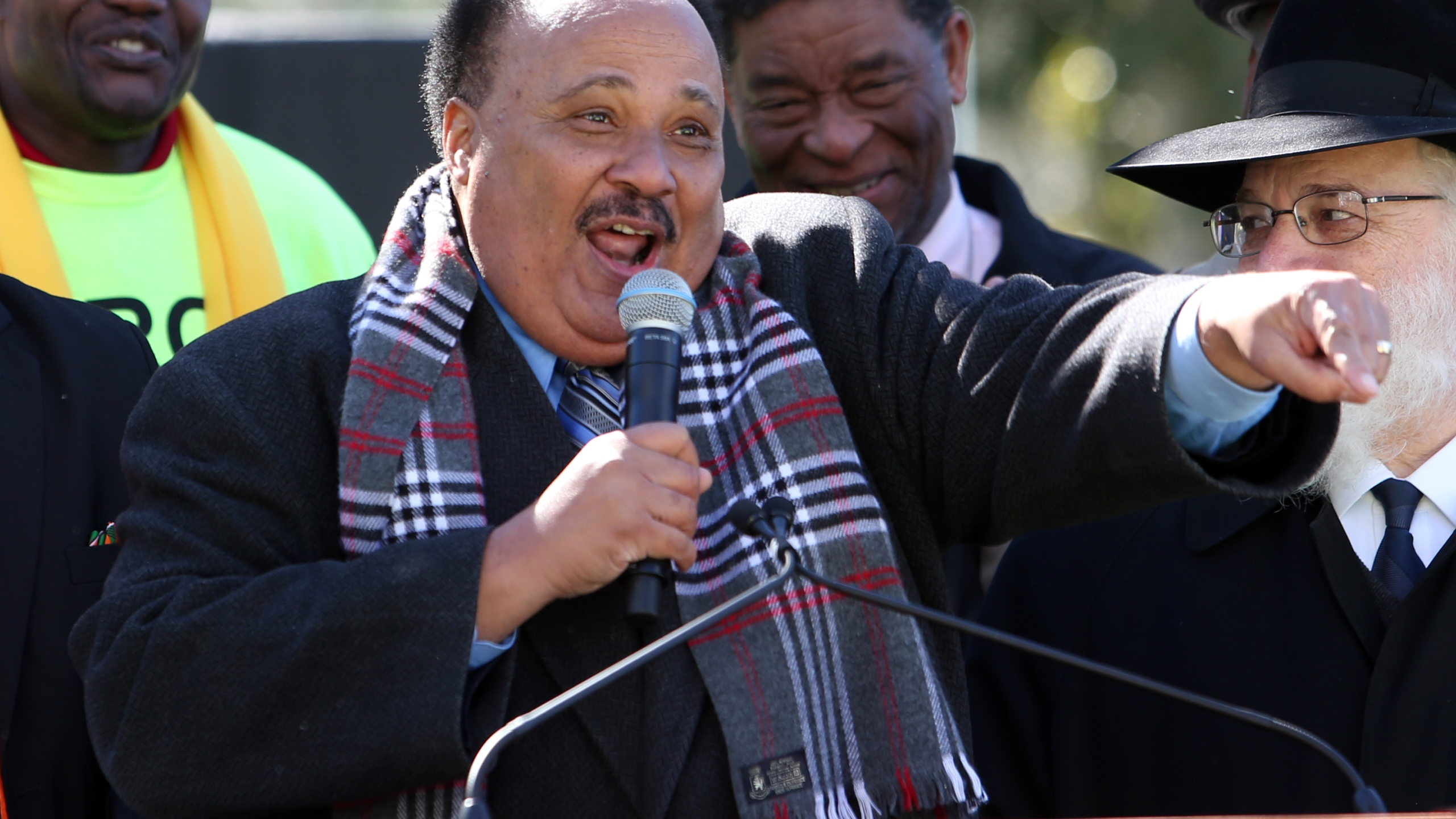 Martin Luther King III Photo by Steve Cannon, AP Photo_266266