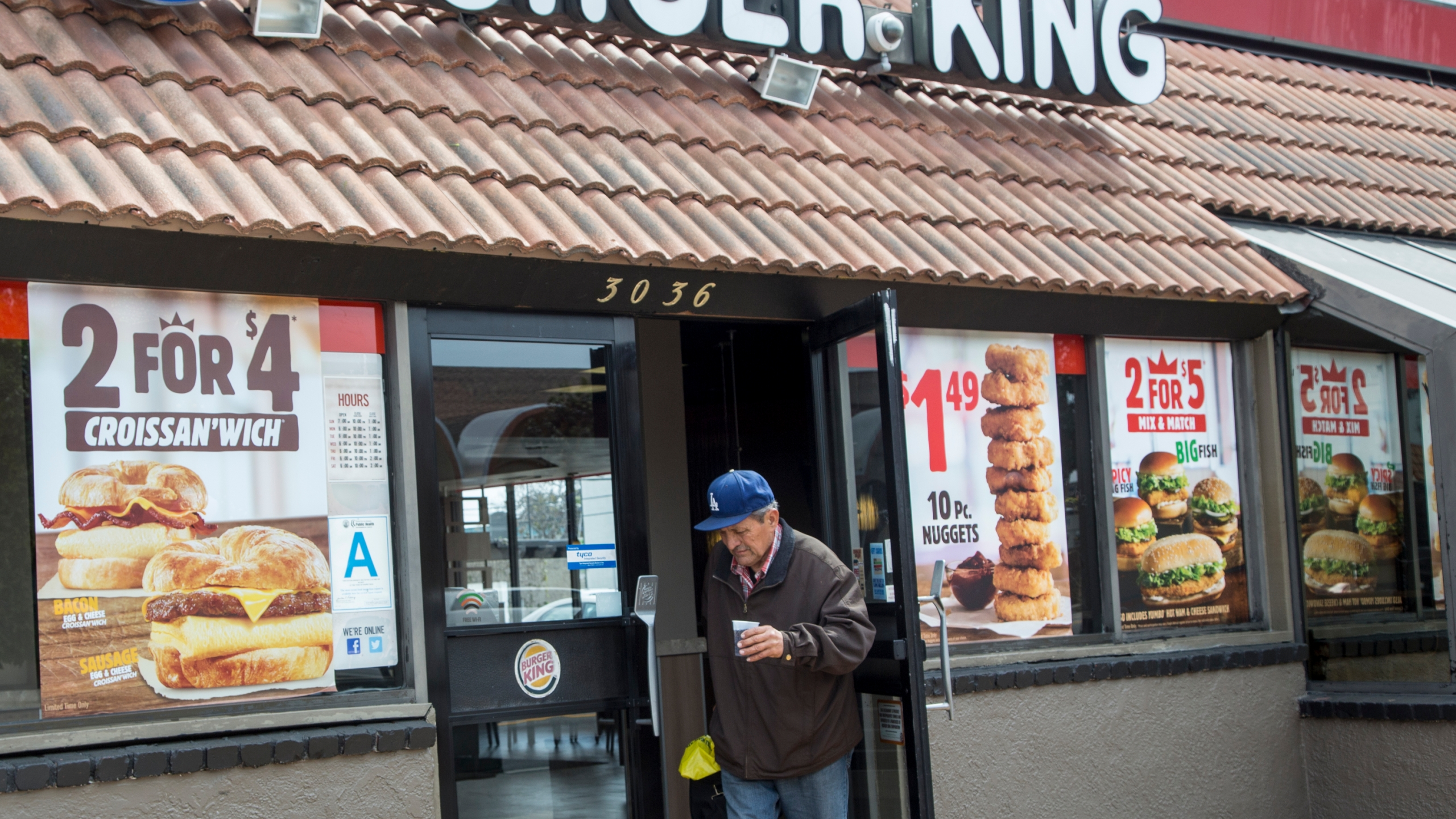 Earnings Burger King parent Restaurant Brands Photo by Damian Dovarganes, AP Photo_286668