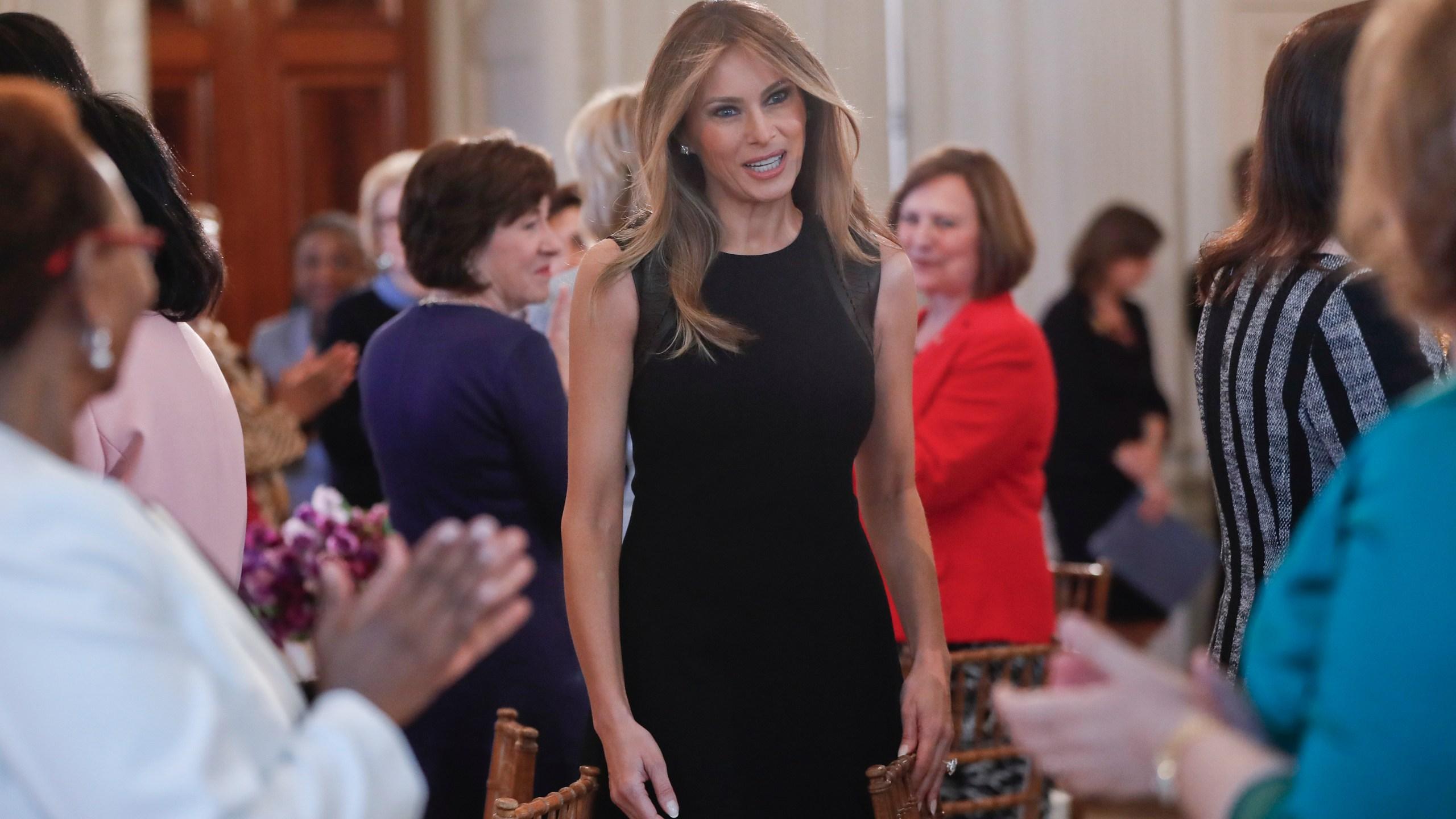 Donald Trump, Melania Trump Photo by Pablo Martinez Monsivais, AP Photo_295081