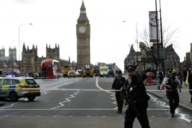 APTOPIX Britain Parliament Incident Photo by Matt Dunham, AP Photo_301913