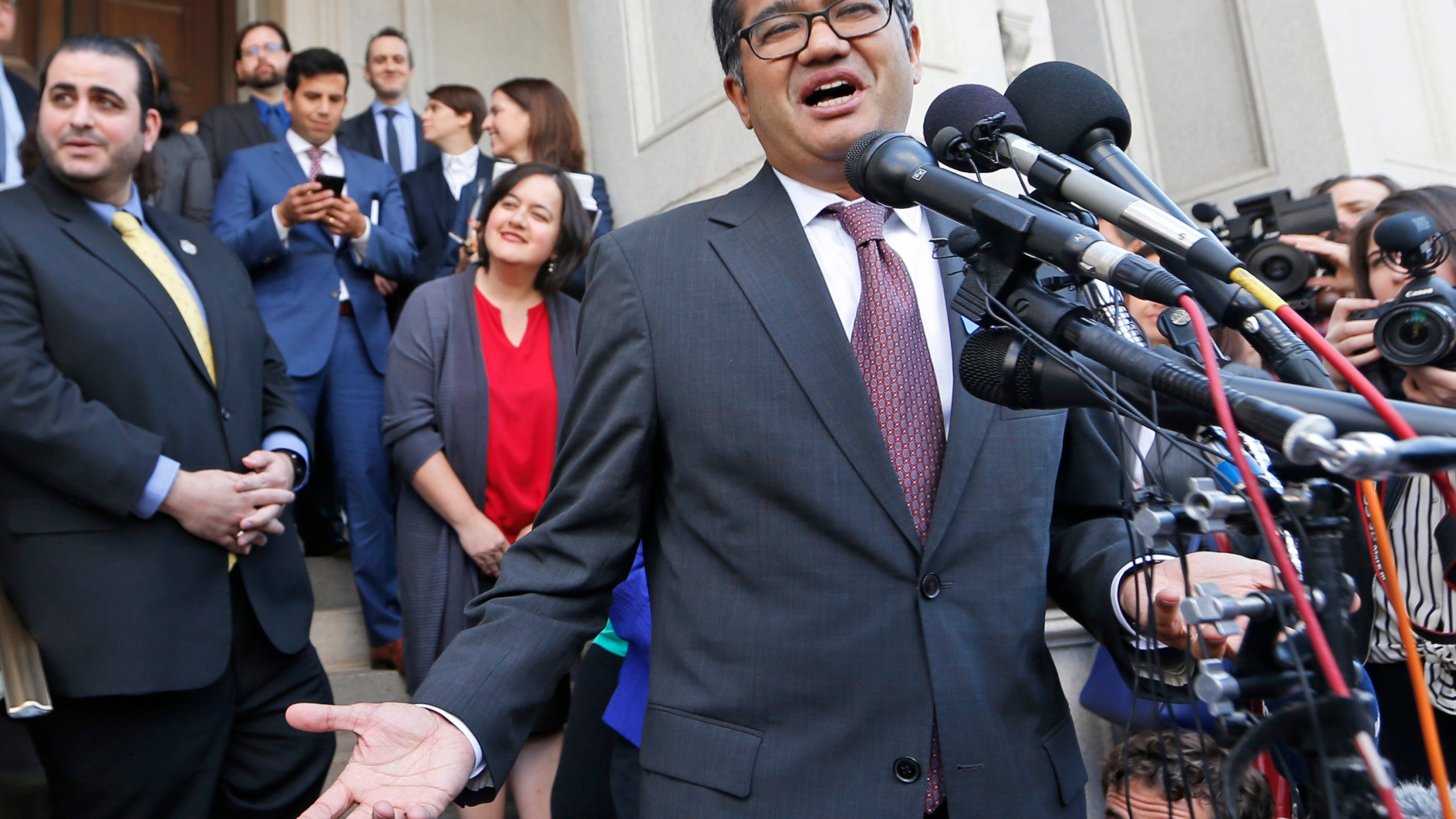 Omar Jadwat 4th US CIrcuit Court of Appeals Photo by Steve Helber, AP Photo_333264
