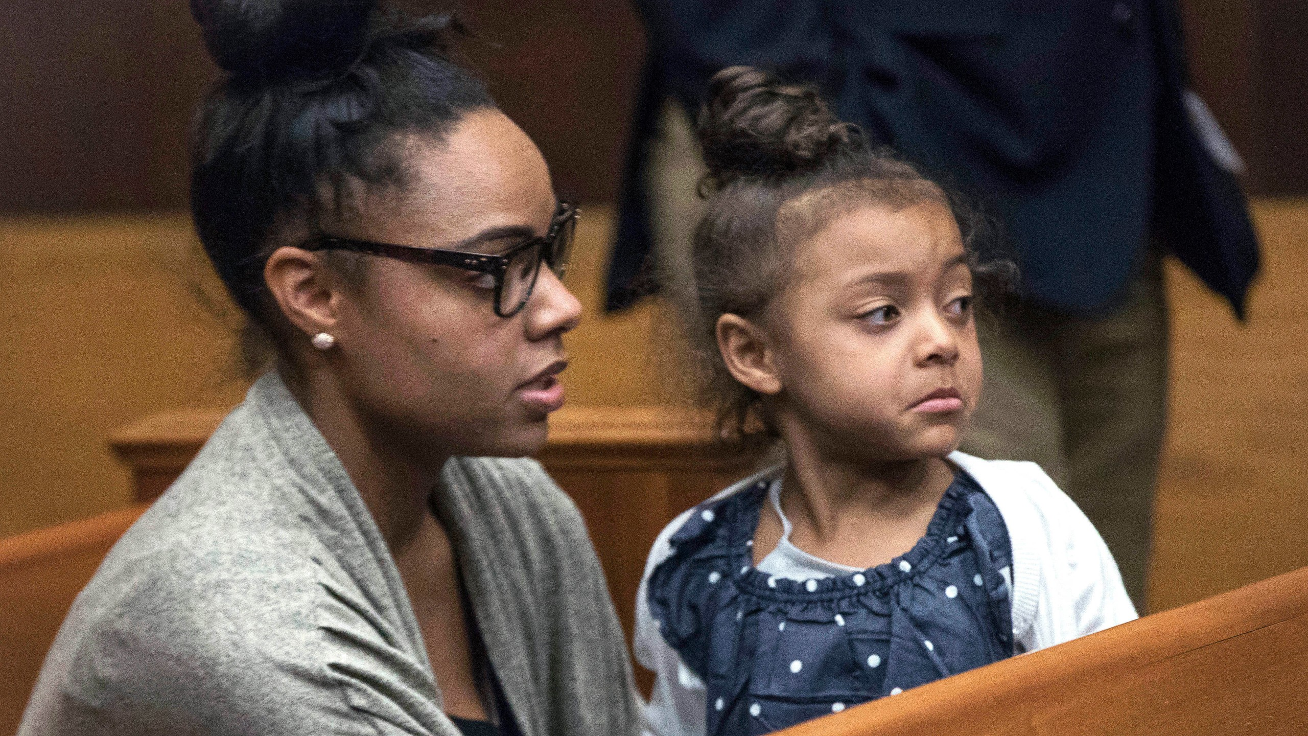 Shayanna Jernkins-Hernandez, Aaron Hernandez Fiancee Photo by Keith Bedford, The Boston Globe, Pool Photo via AP Photo_327768