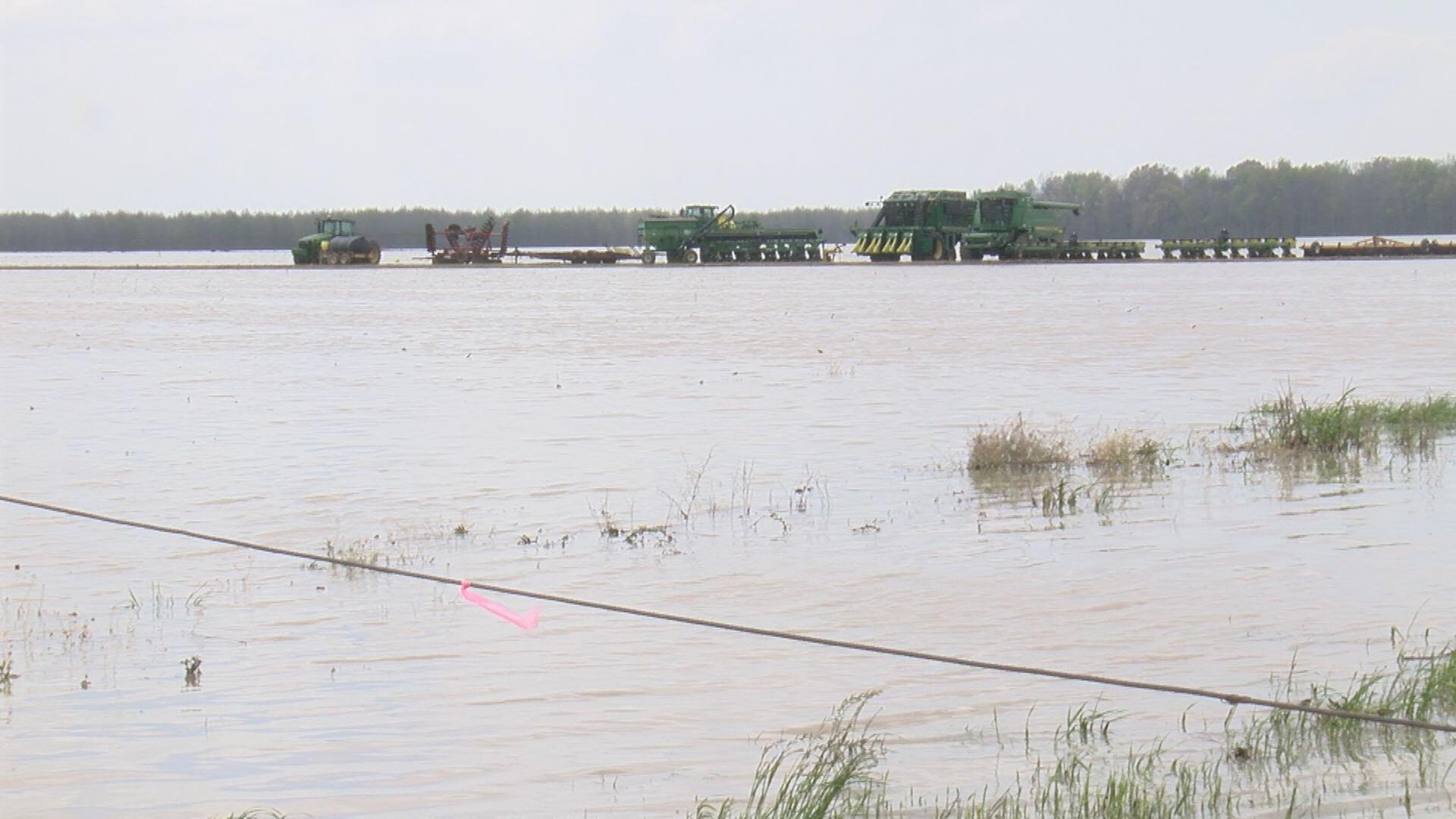 Backwater flooding