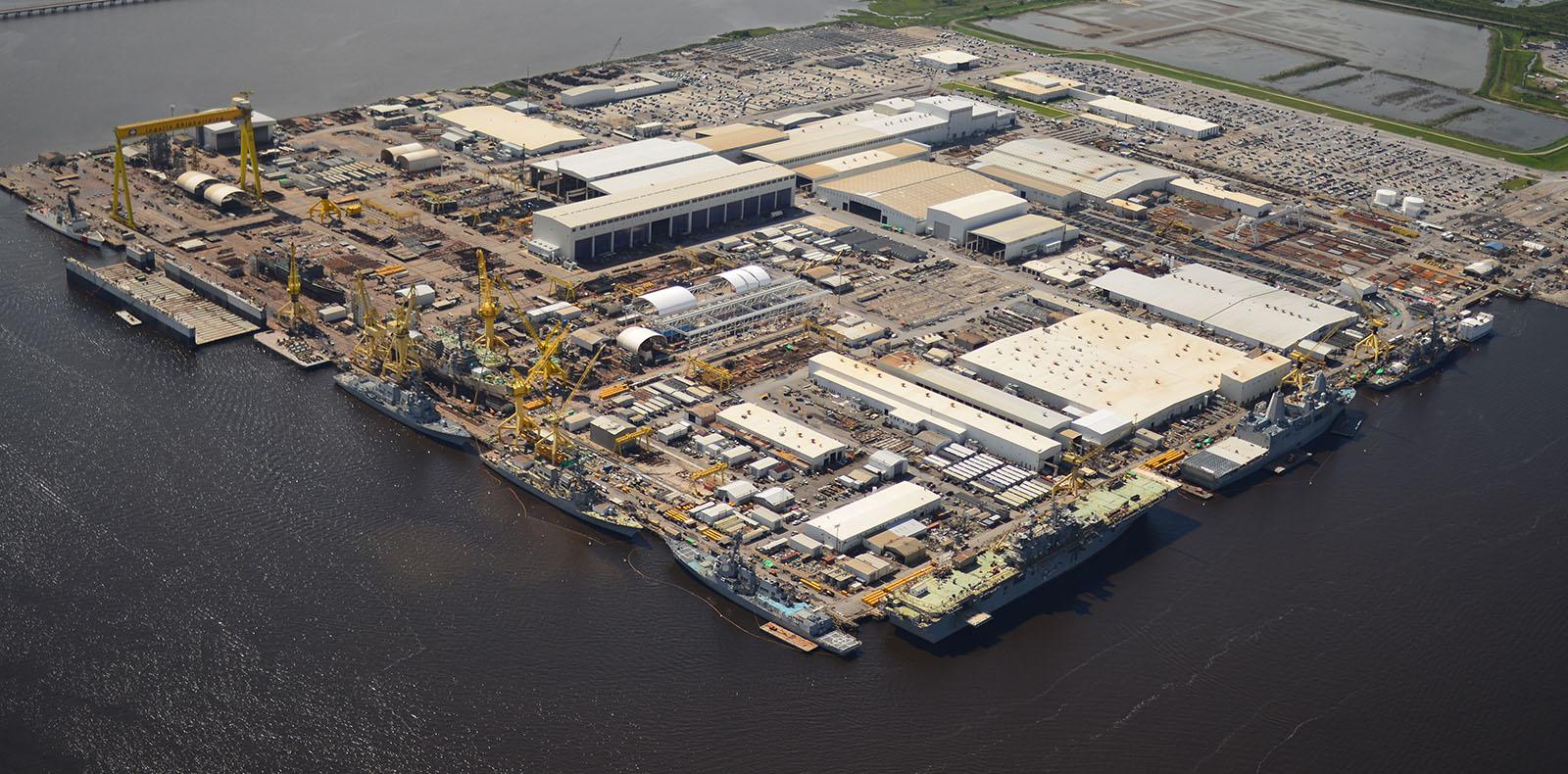 Ingalls shipyard