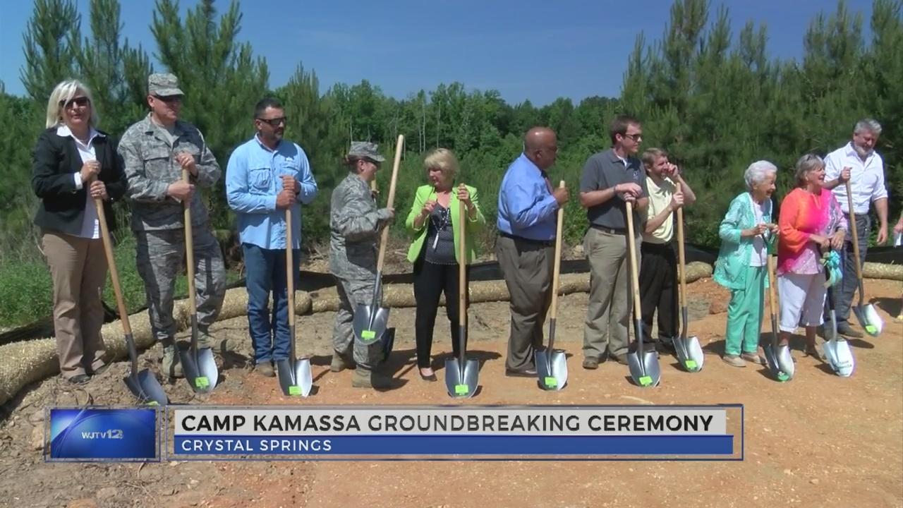 Camp Kamassa groundbreaking