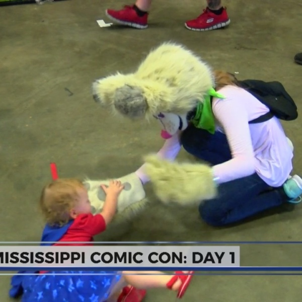 Mississippi Comic Con Day 1
