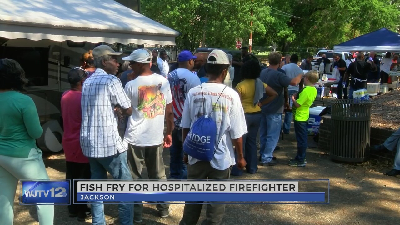 Fish Fry for injured firefighter