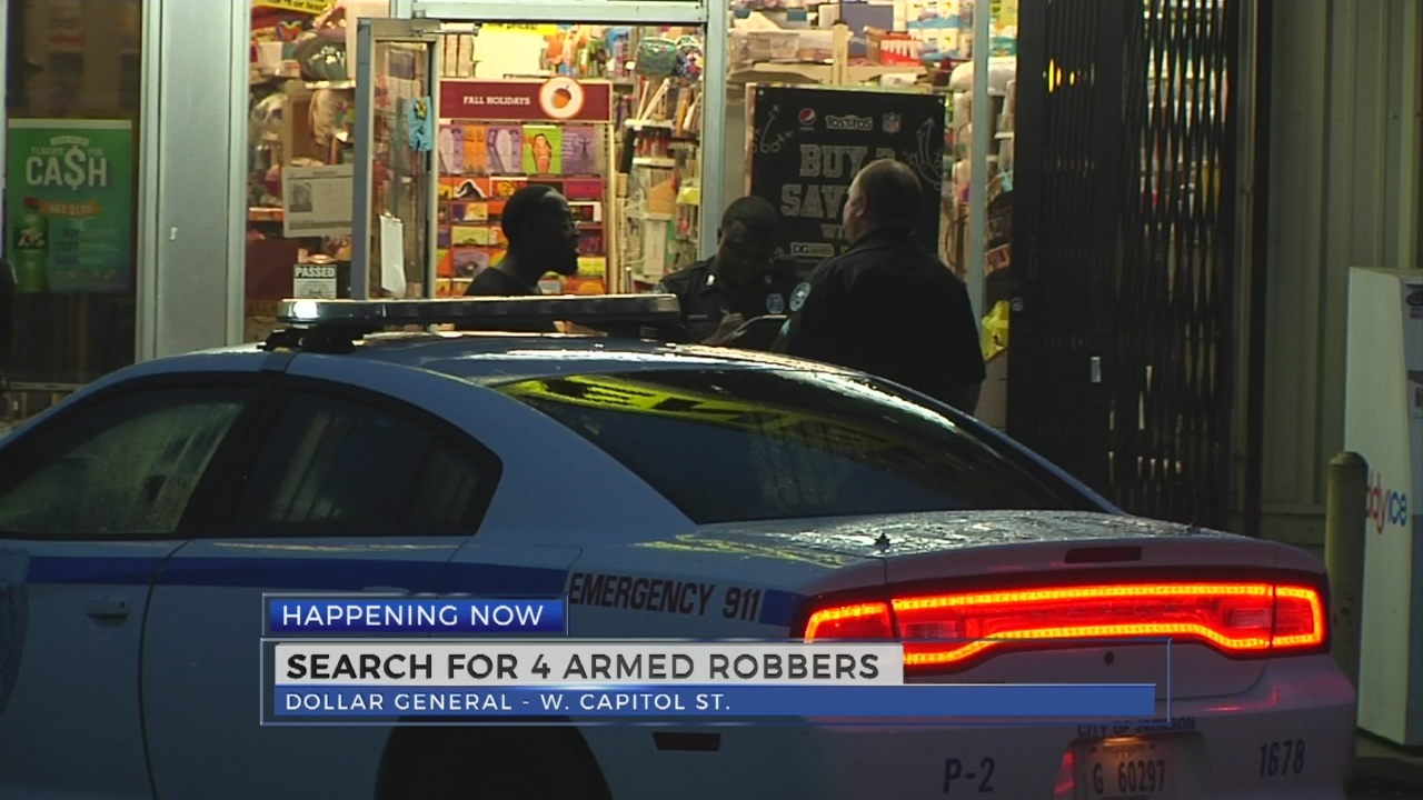 Jackson Police investigate two armed robberies at Dollar General stores