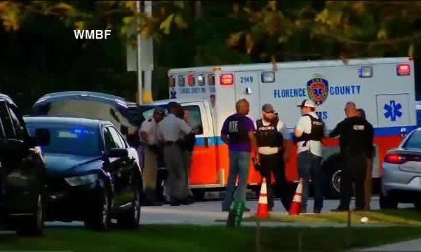 Florence South Carolina officers hit