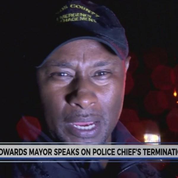 Mayor of Edwards addresses Police Chief termination