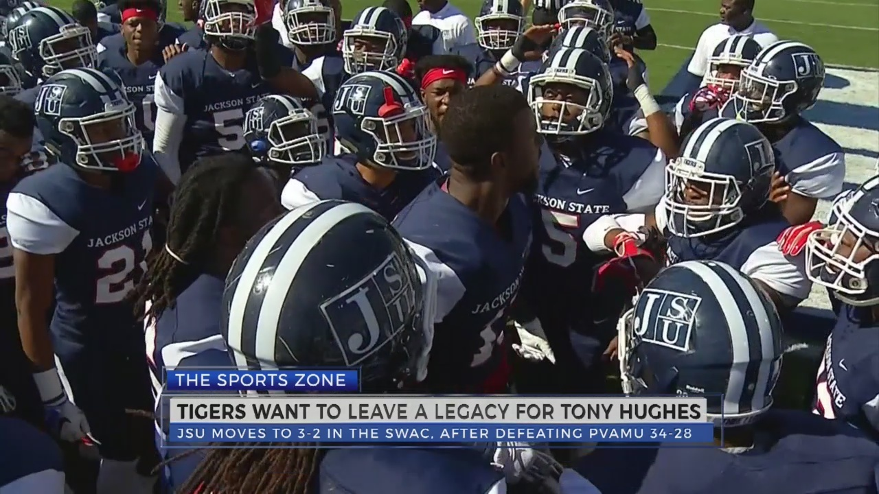 JSU wants to leave a legacy for Tony Hughes