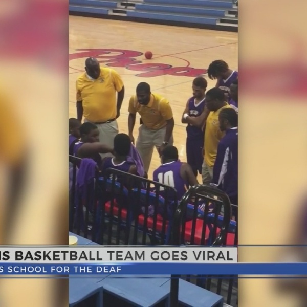 Mississippi School for the Deaf Basketball Video Goes Viral