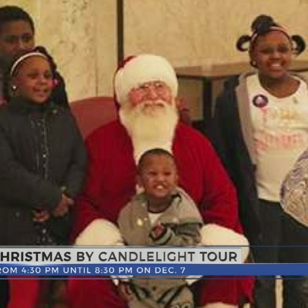 Christmas By Candlelight Tour Happening Today