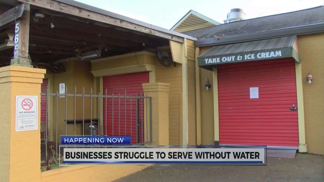 Jackson water outage takes a toll on businesses