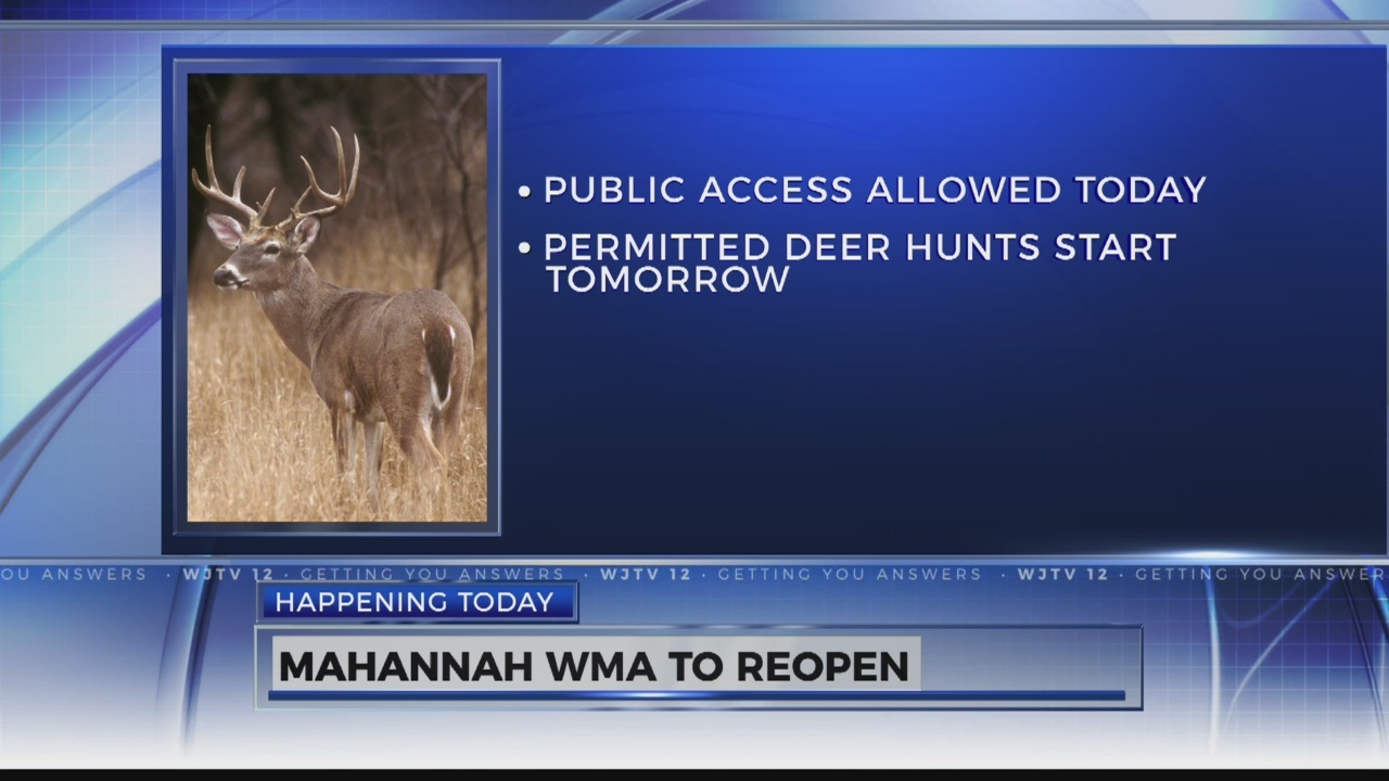Mahannah Wildlife Management Area Reopens to the Public