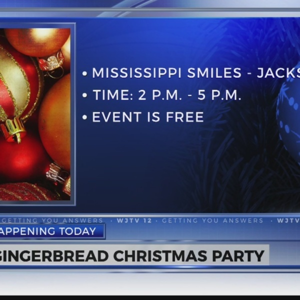 Mississippi Smiles to Host Gingerbread Christmas Party