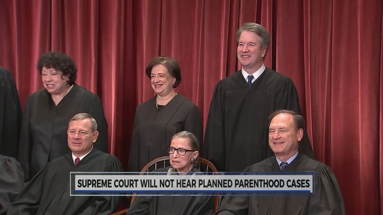 Supreme Court on Planned Parenthood