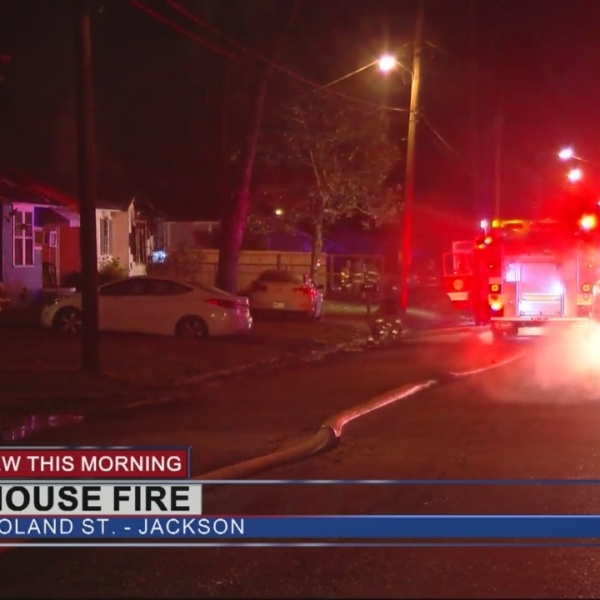 Vacant House Fire on Roland Street