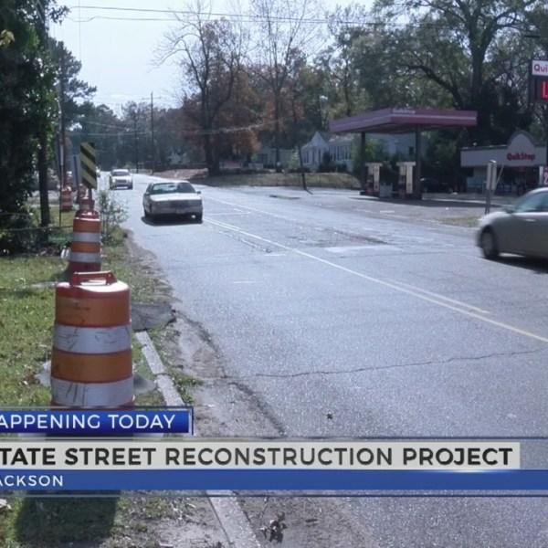 Work Begins on State Street In Jackson