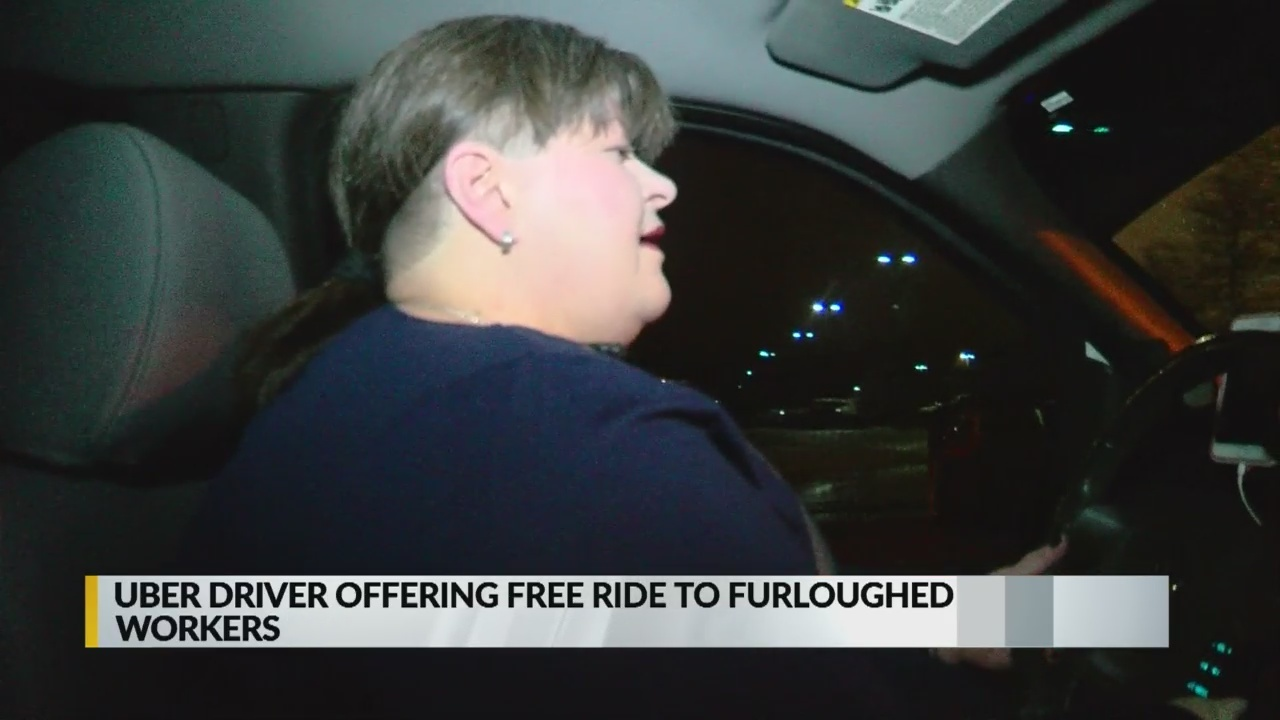 can uber drivers get free rides