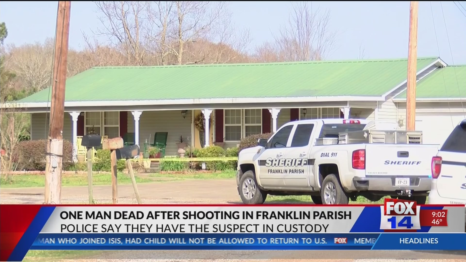 Young father brutally gunned down in Franklin Parish