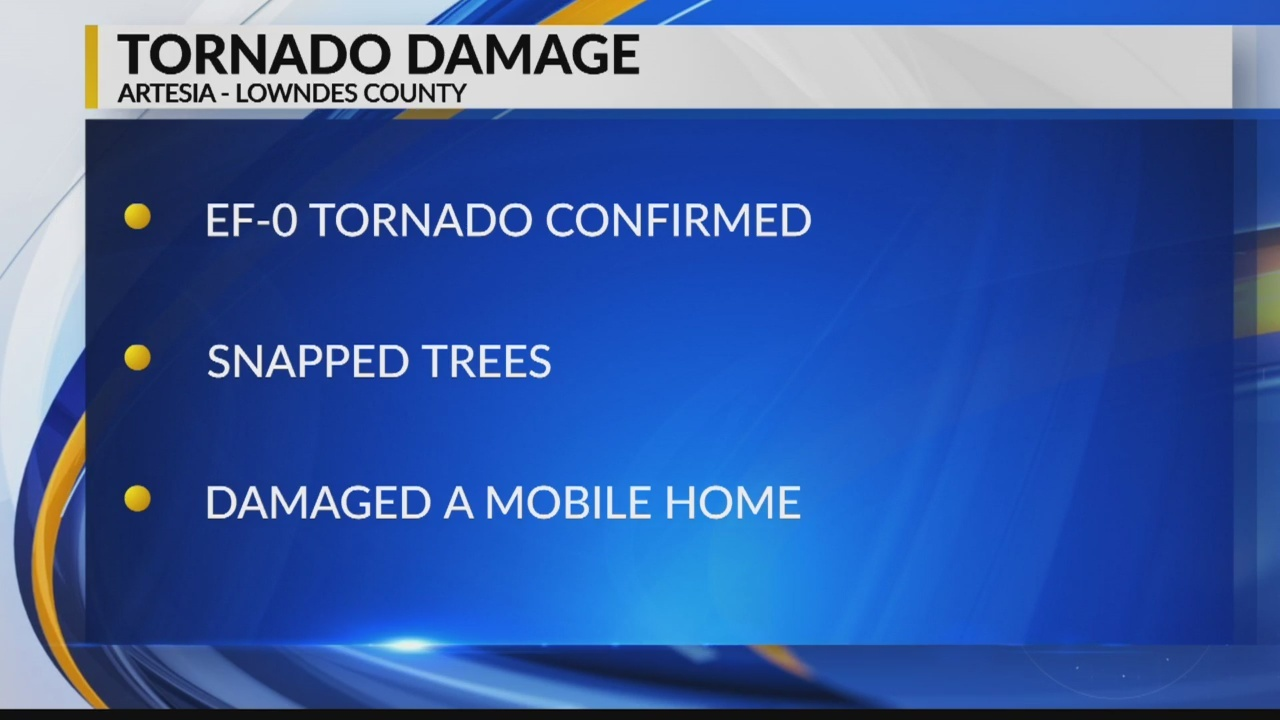 Tornado Touches Down in Artesia