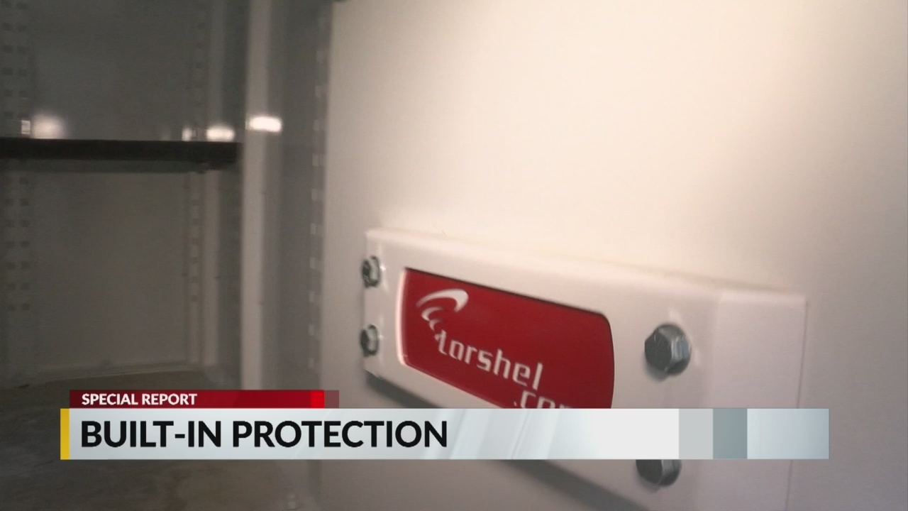 Tornado shelters: Built in protection