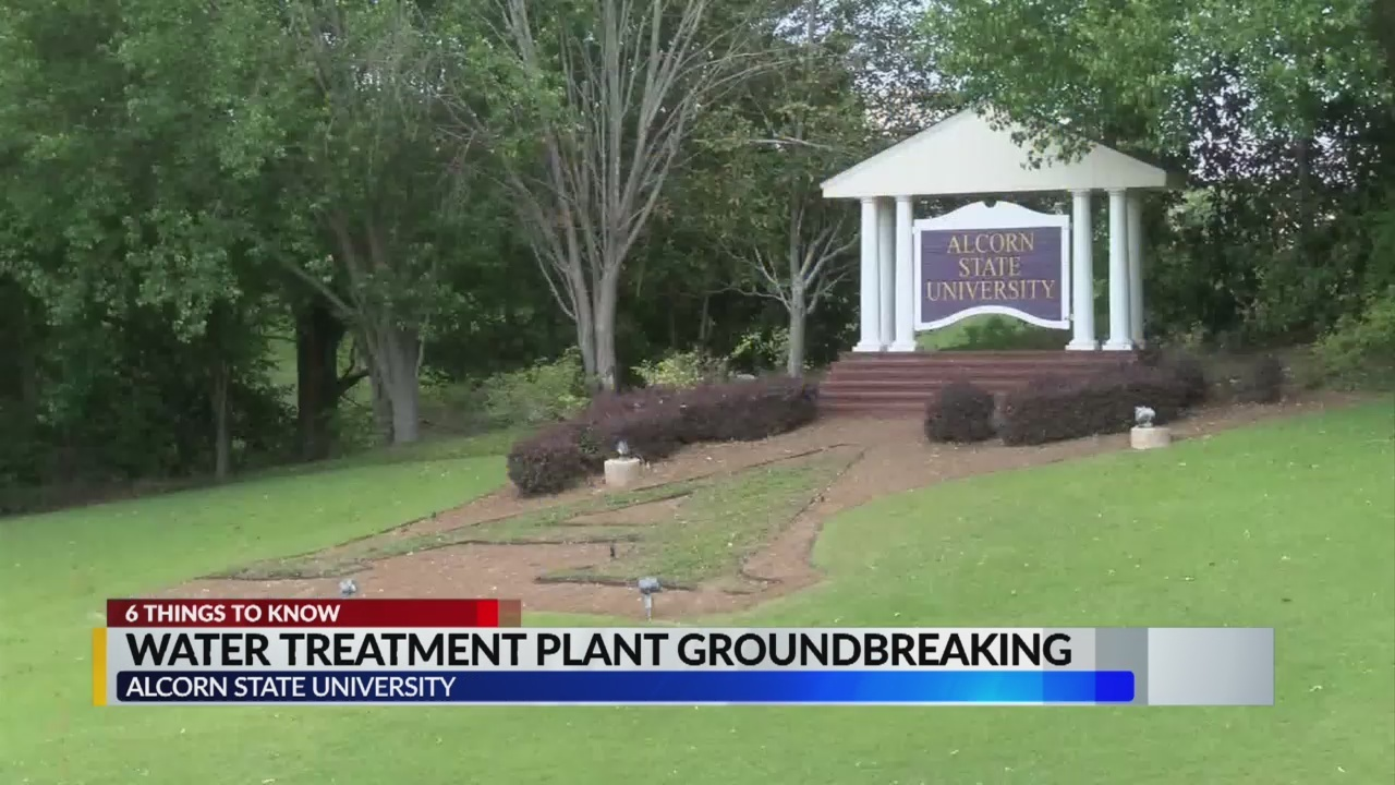 Alcorn State to Break Ground on Water Treatment Facility