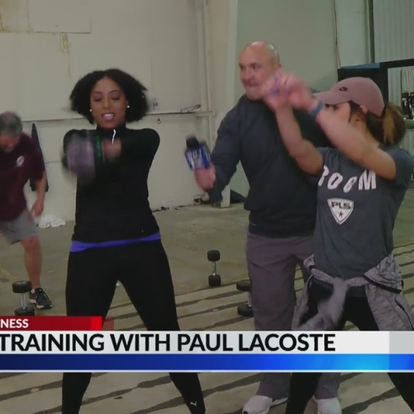 Focused on Fitness: Training with Paul Lacoste