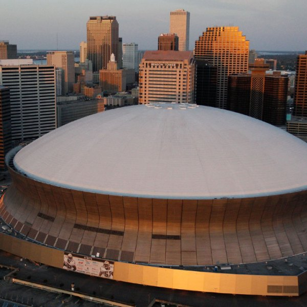 aerial view of New Orleans Superdome96155025-159532