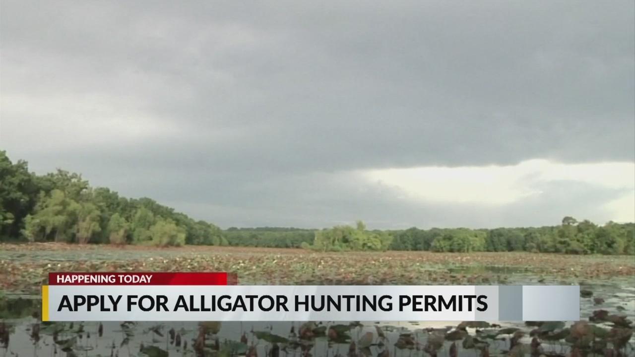 Alligator permit apps open
